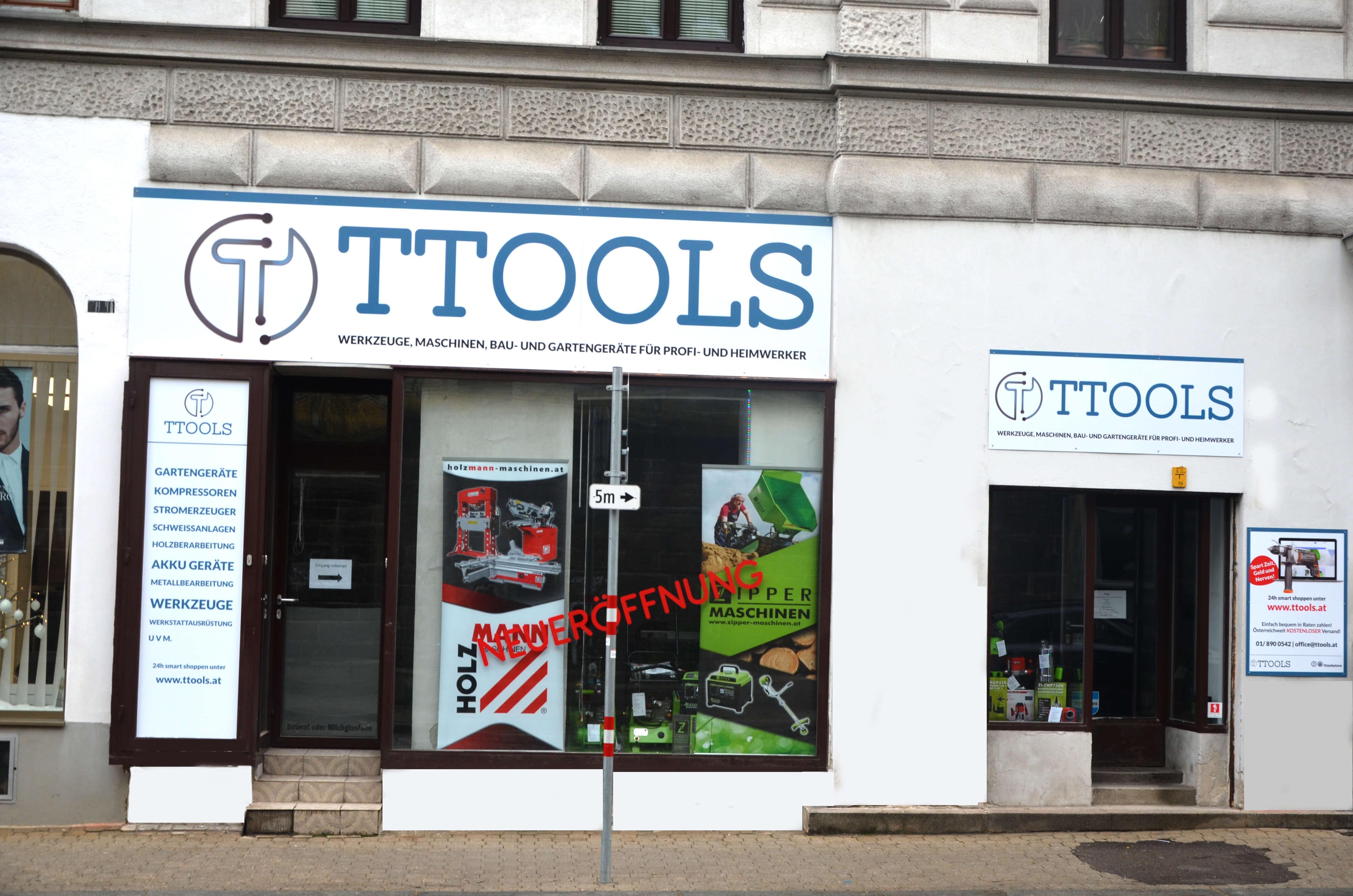TTOOLS - Werkzeuge, Maschinen, Bau- und Gartengeräte
