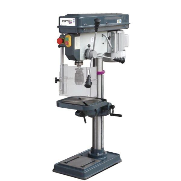 Tischbohrmaschine - im Aktions-Set mit MaschinenschraubstockOPTIdrill B 20 (230 V) Aktions-Set